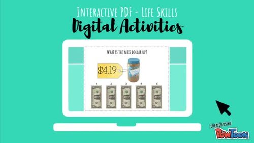 Which Food Group? Nutrition Digital Interactive Task Card Activity BUNDLE