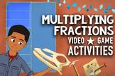 Multiplying Fractions Song & Multimedia Activities Bundle