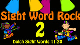 Dolch Sight Word Rock 2 Video (Dolch Sight Words 11-20)