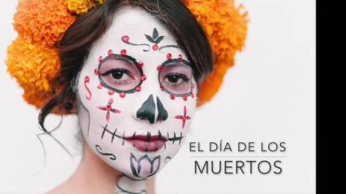 Spanish Day of the Dead El Día de los Muertos PowerPoint and Activities Bundle