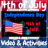 4th of July Independence Day Video + Activities Kit!