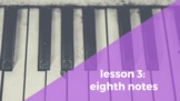 Lesson 3: Eighth Notes