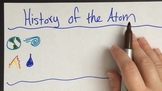 History of the Atom VIDEO LESSON