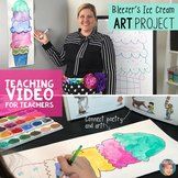 Free National Poetry Month Lesson: Bleezer's Ice Cream Paintings