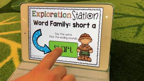 Exploration Station - CVC Word Family Bundle