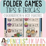 Free File Folder Games Tips and Tricks - Organization, How