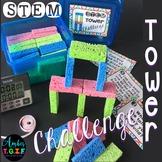 STEM Tower Sponge Challenge Freebie