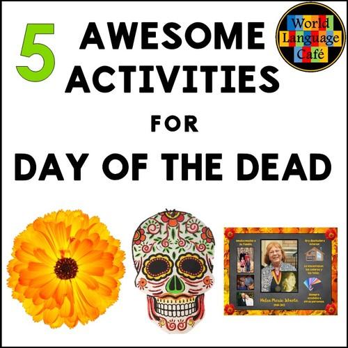 Day Of The Dead Activities Crafts Song Reading Da De Los Muertos