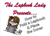 How to Fold a Lapbook (And put on the Title Page)