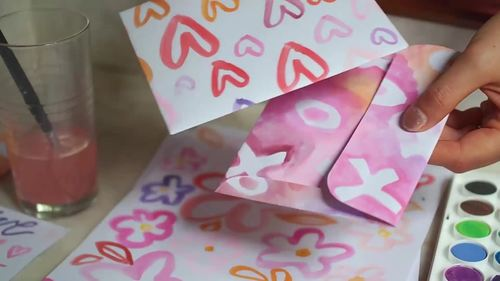 Valentines Day Activity & Lesson Plan - Hand made Envelopes & Notes