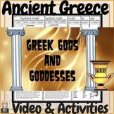 Ancient Greece Greek Gods & Goddesses Video & Activities!