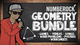 Fun Geometry Review  ★ Songs, Games, Worksheets, & Word Pr