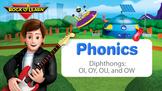 Diphthongs - OI, OY, OU, and OW