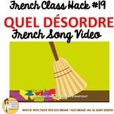 "19 French Class Transition Video ""Clean the Room"" for CI T"