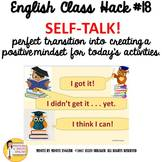 English ESL ELL EFL ELD ESOL Transitional Video Self Talk