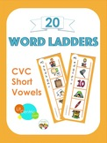 CVC Word Ladders Literacy Center - How-To Video!