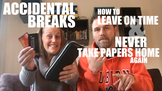 Avoid Accidental Breaks to NEVER Take Papers Home Again