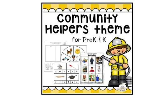 Community Helpers Theme for Preschool & Kindergarten