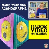 Teaching Video: How to make your own Agamograph featuring Emojis