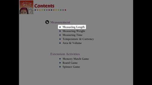 Measurement: Measuring Length - MAC Gr. PK-2