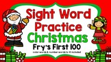 Sight Word Video & Slideshow, Fry's First 100, Christmas