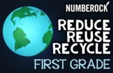 1st Grade Reduce, Reuse, Recycle Activities & Math: Recycl