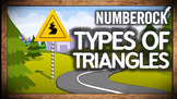 TYPES OF TRIANGLES Song ★ Isoscoles, Scalene, Right, Obtus