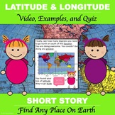 "Latitude and Longitude Made Easy  ""Short Video to Teach La"
