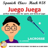Spanish Class Juego  Video Reenforces Spanish Vocabulary f