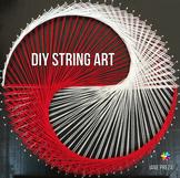 DIY Yin Yang String Art Project