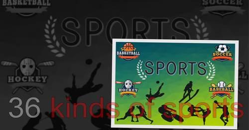 Sports Theme ❘ Kindergarten Lesson ❘ PowerPoint ❘ Games
