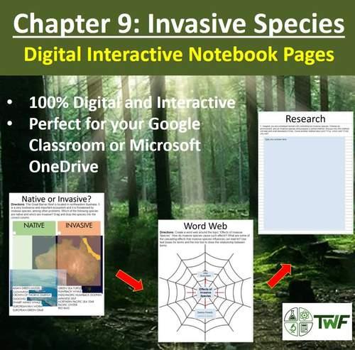 Invasive Species - Digital Interactive Notebook Pages