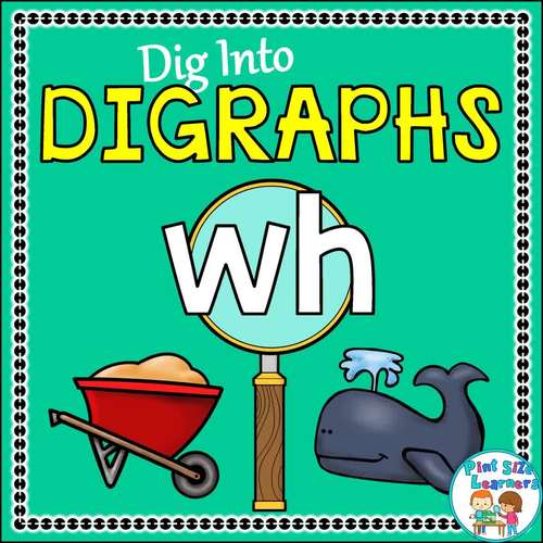 Digraph Wh No Prep Worksheets