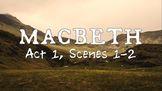 Line by Line: Shakespeare's Macbeth (1.1-2)