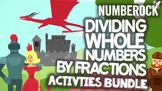 Dividing Whole Numbers By Fractions: Song, Game, Poster, &