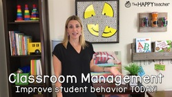Classroom Management Strategy for Improving Student Behavior TODAY!