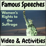 "Famous Speeches Susan B. Anthony ""Women's Rights to Suffra"