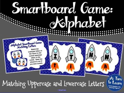 Alphabet Game: Matching Letters (Smartboard/Promethean Board)