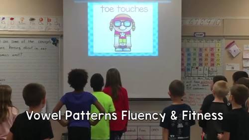 Vowel Teams/Vowel Patterns Fluency & Fitness Brain Breaks