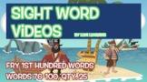 Fry 1st 100, Sight Word Videos #76-100: Teach Spelling, Me