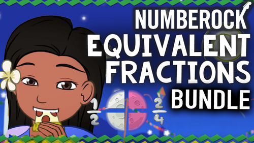 Equivalent Fractions Game, Worksheets and Animated Video ♫♪ by ...