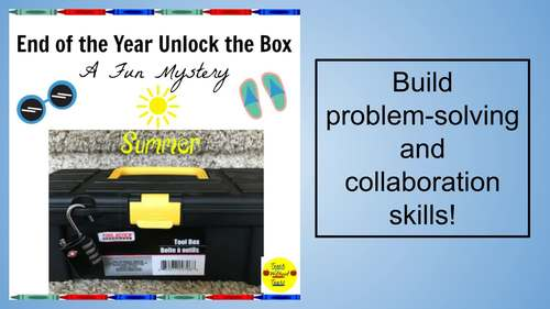 End of the School Year Unlock the Box Mystery
