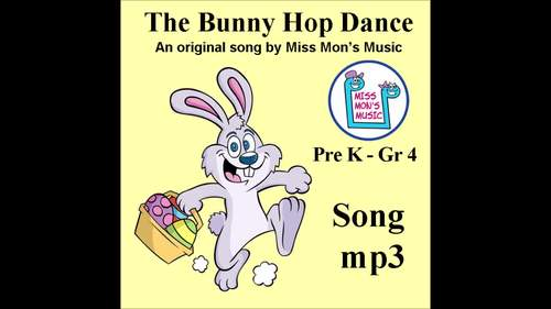 "Original ""The Bunny Hop"" Dance Song - A revised version for children: Song mp3"