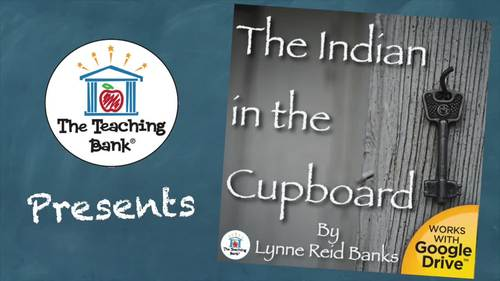 The Indian in the Cupboard Novel Study Book Unit
