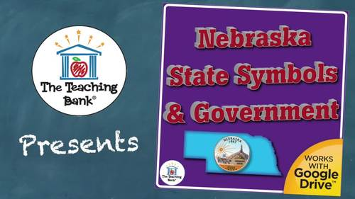 Nebraska State Study Symbols and Government Unit