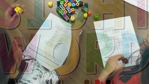 Alphabet Activities for Kindergarten with Cubes {26 Pages!} {Letter Activities}