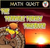 Thanksgiving Math Quest: Thanksgiving Activity Terrible Tu