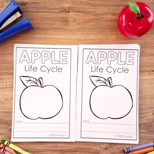 Apple Life Cycle Johnny Appleseed Reader Apples Kindergarten