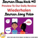 """10_German Class Transition Video """"Review"""" """"Wiederholen"""" fo"""