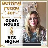 Open House - Back to School Night - Meet the Teacher Getti